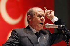 Μπαχτσελί: Οι ανεύθυνοι Ελληνες πολιτικοί τρίζουν τα δόντια, εμείς ξέρουμε να τα ξεριζώνουμε