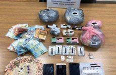 Σύλληψη ζευγαριού στο Βόλο για διακίνηση ναρκωτικών