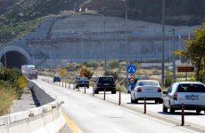Διακοπή κυκλοφορίας στον Κόμβο Πλαταμώνα