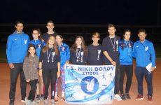 Πρωτιές και διακρίσεις για το τμήμα στίβου του Γ.Σ.Β. «Η ΝΙΚΗ» στο Διασυλλογικό στα Τρίκαλα