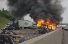 Μεθυσμένος οδηγεί ανάποδα σε αυτοκινητόδρομο και προκαλεί θανατηφόρο τροχαίο