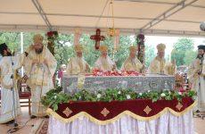 Στην πανήγυρη του Αγίου Ιωάννου του Ρώσου στην Εύβοια ο μητροπολίτης Δημητριάδος