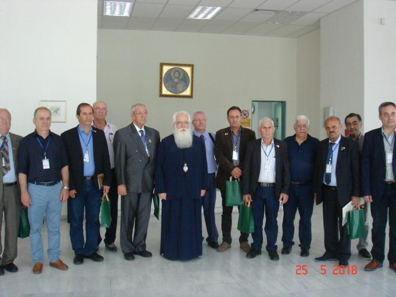 Έφεδροι από την Κύπρο στον μητροπολίτη Ιγνάτιο