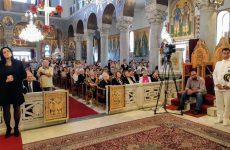 Λαμπρός ο εορτασμός των Αγίων Κωνσταντίνου και Ελένης  στον Βόλο