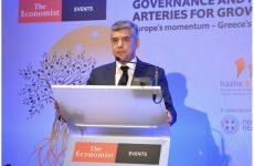 Ο Κώστας Αγοραστός στο συνέδριο του ECONOMIST