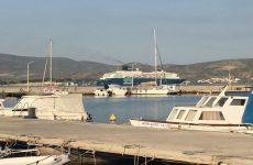 """Στο λιμάνι του Βόλου με 1.540 επιβάτες το """"Horizon"""""""