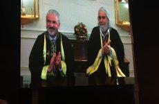 Το χρυσό μετάλλιο του Πανεπιστημίου Θεσσαλίας στον Βαγγέλη  Παπαθανασίου