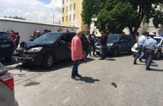 Από θαύμα οδηγός δεν παρέσυρε την έκθεση μαθητών των ΕΠΑΛ