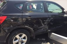 Τραυματισμός 81χρονου οδηγού σε τροχαίο στη Λαρίσης