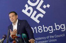 Τσίπρας για Σκοπιανό: Υπάρχει πρόοδος, αλλά όχι συμφωνία