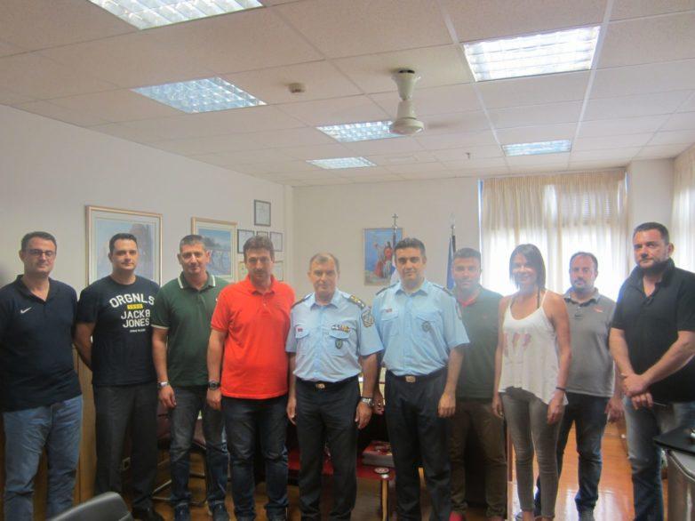 Επίσκεψη της Ένωσης Αξιωματικών ΕΛΑΣ Θεσσαλίας στον ΓΕΠΑΔ Θεσσαλίας