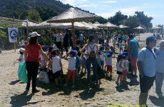 Καθαρισμός βυθού και παραλίας στον Άναυρο