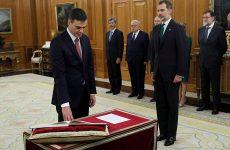 Ισπανία: Ο Πέδρο Σάντσεθ ορκίστηκε πρωθυπουργός