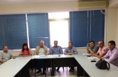 Συνεδρίαση προέδρων των ΔΗΜ.Τ.Ο. Ν.Δ. Μαγνησίας