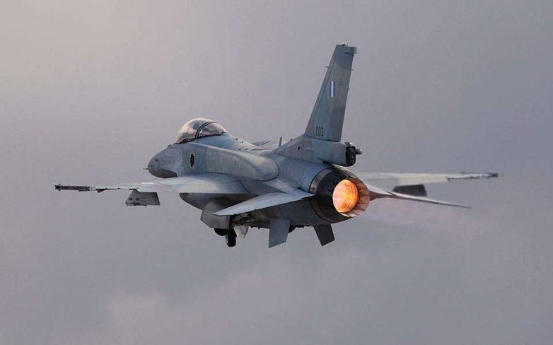 Ελληνικά F-16 πάνω από το Μαυροβούνιο