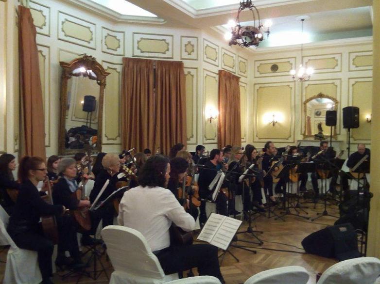 """Συναυλία της """"Κιθαριστικής Ορχήστρας Βόλου"""" στην παραλία"""