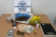 Συνελήφθη 23χρονος με ποσότητα κάνναβης στην Καρδίτσα