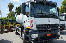 Σε κυκλοφορία φορτηγά κι απορριμματοφόρα του Δήμου Βόλου