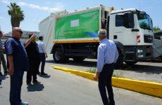 Περί τα μέσα Οκτωβρίου τα νέα οχήματα και μηχανήματα της υπηρεσίας Καθαριότητας