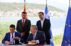 Υπεγράφη η συμφωνία για το ονοματολογικό στις Πρέσπες