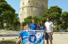 Πρωτιές για το τμήμα στίβου της Νίκης Βόλου στους αγώνες «Νίκος Κοτσίδης»