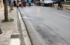 Tροχαίο με θύμα μοτοσικλετιστή στη συμβολή των οδών Κ. Καρτάλη- Κωνσταντά