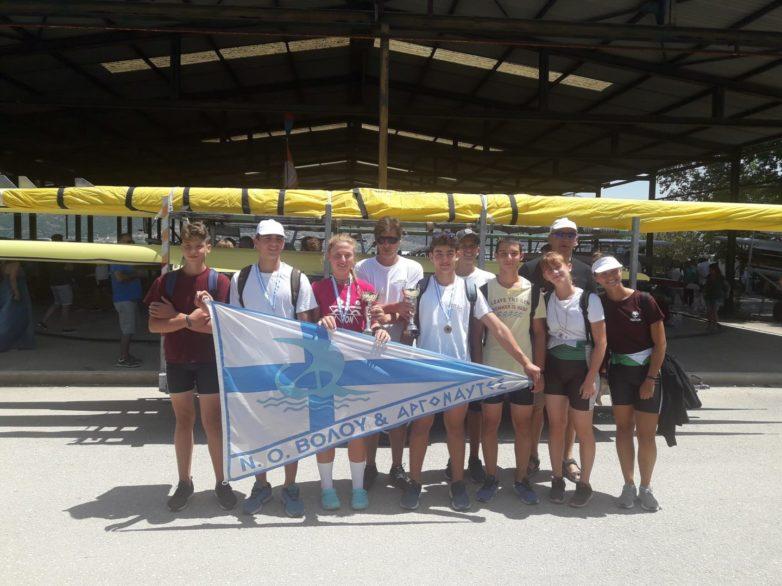 Δύο χρυσά  ο ΝΟΒ-Α στο 84ο Πανελλήνιο Πρωτάθλημα Κωπηλασίας