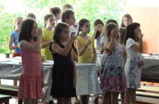Αγιασμός στη 2η κατασκηνωτική περίοδο στον Άγιο Λαυρέντιο