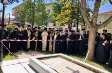 Ιερατική Σύναξη στη Λάρισα μετά την εκδημία του μακαριστού Λαρίσης Ιγνατίου