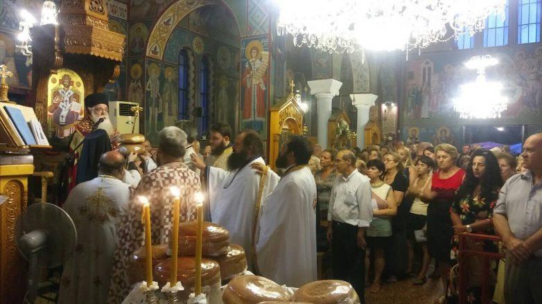 Πλήθος κόσμου στην εορτή του Αγίου Παντελεήμονος