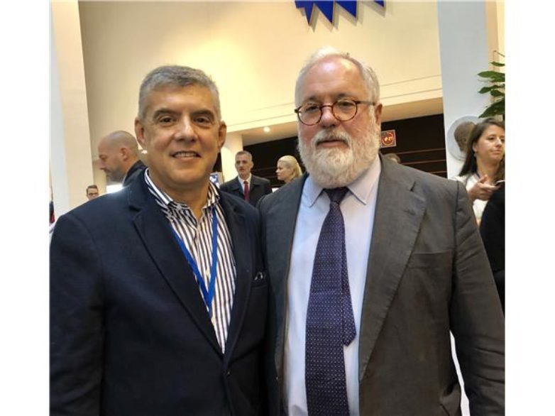 Κ. Αγοραστός στον Επίτροπο ΕΕ για Κλιματική Αλλαγή M Canete : Πράσινη Περιφέρεια η Θεσσαλία