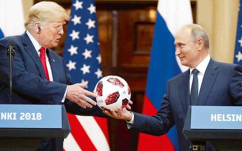 Ο Πούτιν «πείθει» τον Τραμπ, το FBI όχι