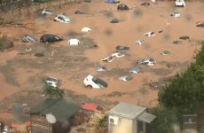 Ισχυρή καταιγίδα στα βόρεια προάστια – Πλημμύρισαν πάρκινγκ