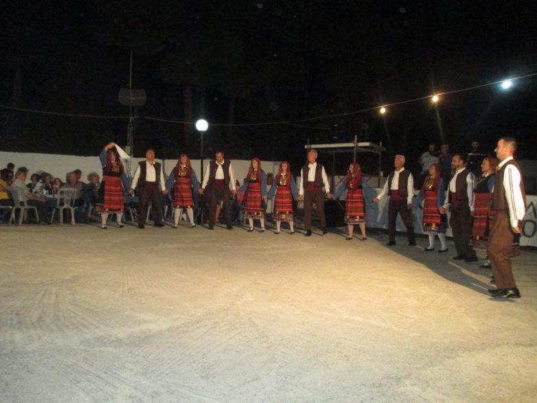 Στο Βαθύκοιλο Φθιώτιδας το χορευτικό Φιλοπροόδου Συλλόγου Νέας Αγχιάλου