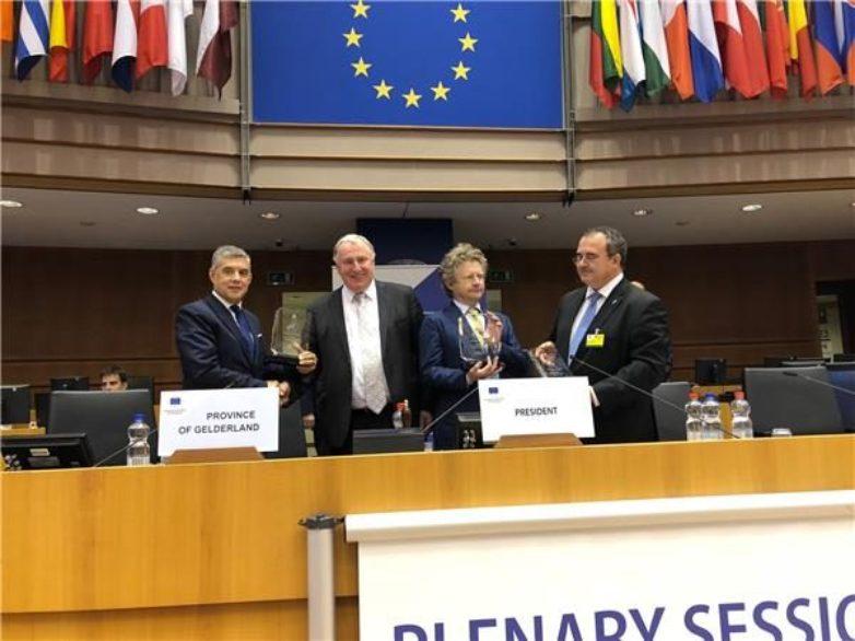 Επιχειρηματική Περιφέρεια της Ευρώπης  το 2019 η Θεσσαλία