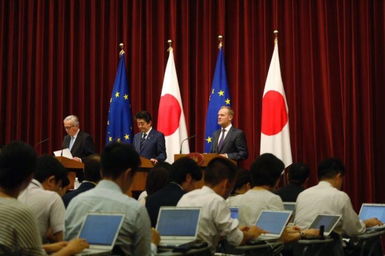 Σύνοδος κορυφής ΕΕ-Ιαπωνίας: μια ιστορική στιγμή για το εμπόριο και τη συνεργασία