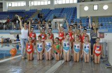 Tελετή λήξης για το τμήμα συγχρονισμένης κολύμβησης της Νίκης Βόλου