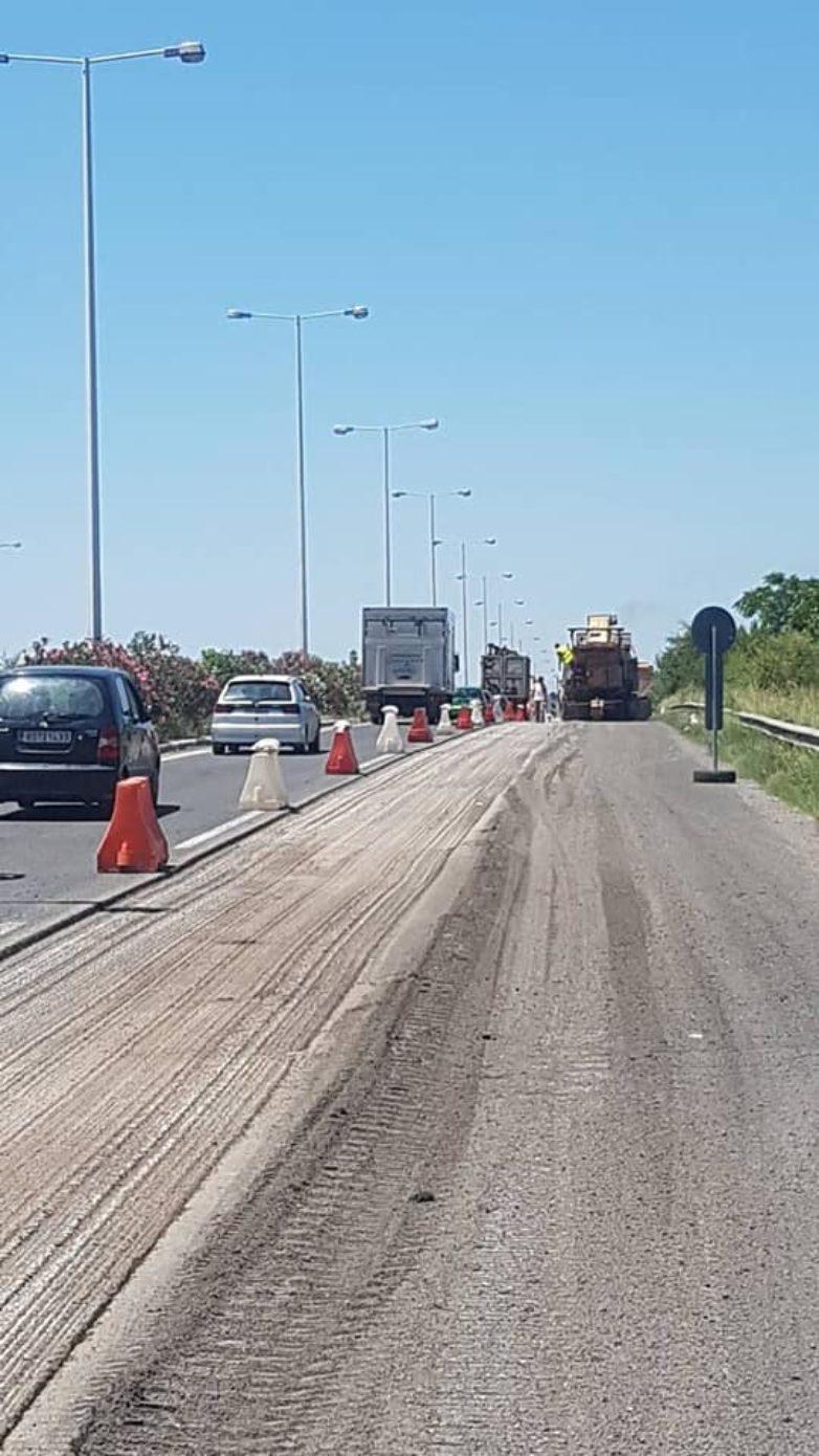 Κυκλοφοριακές ρυθμίσεις στον ΕΟ Λάρισας – Βόλου λόγω εργασιών