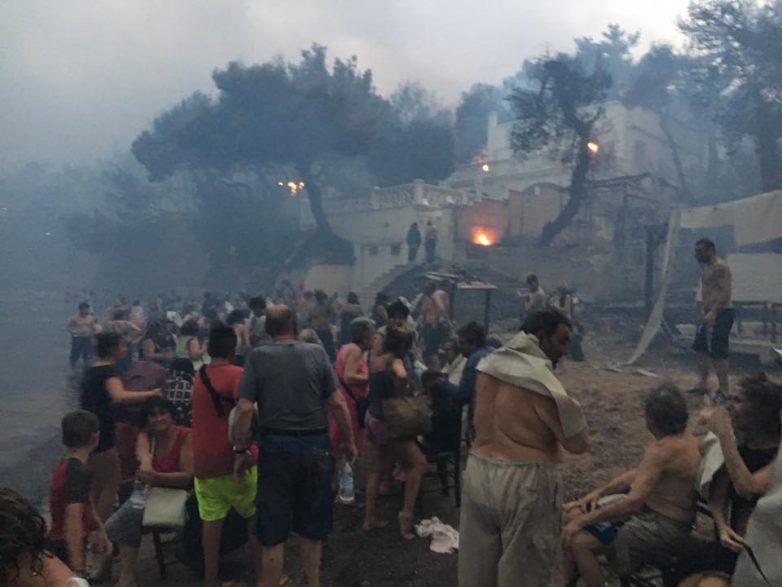 Αυξάνεται ο αριθμός των νεκρών από την πυρκαγιά στην Αττική