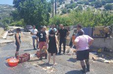 Στις πληγείσες περιοχές του Δήμου Ρήγα Φεραίου  ο Π. Ηλιόπουλος