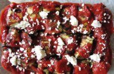 Μελιτζάνες φούρνου με φέτα