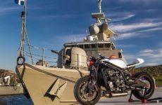 Στους δρόμους η πρώτη ελληνική μοτοσικλέτα