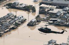 Τους 100 έφτασαν οι νεκροί από τις «φονικές» βροχοπτώσεις στην Ιαπωνία