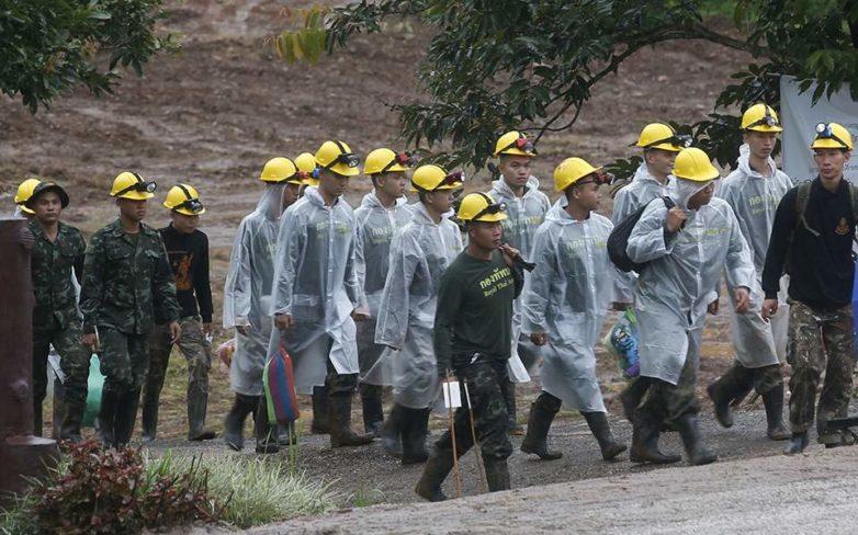 Ταϊλάνδη: Απεγκλωβίστηκαν άλλα δύο παιδιά από το σπήλαιο