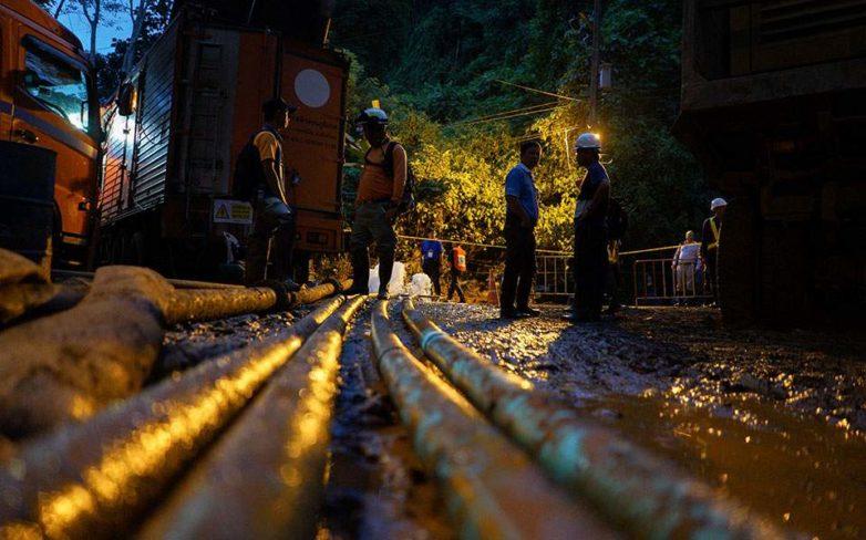 Ταϊλάνδη: «Δεν θα πραγματοποιηθεί απόψε η επιχείρηση διάσωσης»