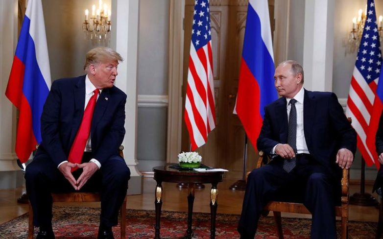 Πούτιν σε Τραμπ: Είναι καιρός να συζητήσουμε τις σχέσεις μας