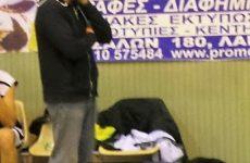 O Κώστας Δέρβος προπονητής στην γυναικεία ομάδα μπάσκετ του Ολυμπιακού Βόλου