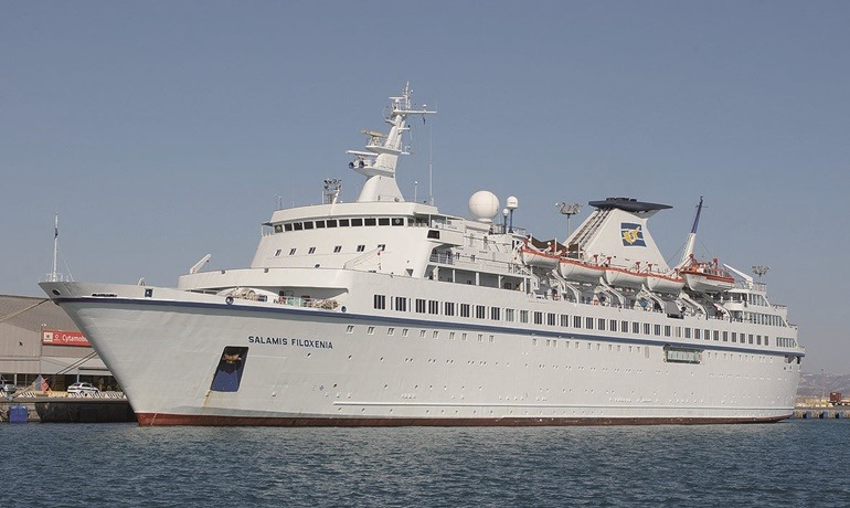 """Στο Βόλο το κρουαζιερόπλοιο «Salamis Filoxenia"""""""