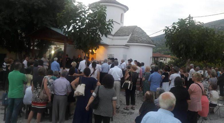Γιορτάζει η Παναγία Ξενιά στην Ενορία της Αγίας Παρασκευής Βόλου