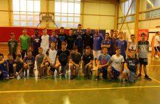 Αγιασμός των ακαδημιών μπάσκετ της Νίκης Βόλου